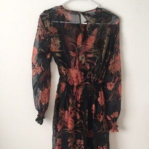 Zara Dresses - ZARA dress size XS long sleeve
